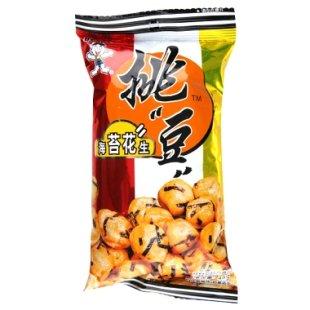 旺旺挑豆随手包海苔花生45g/袋