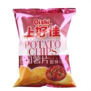 上好佳 田园薯片(甜辣口味)50g/袋