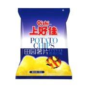 上好佳 田园薯片(烤肉口味)50g/袋