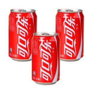 可口可乐 330ml*3/罐