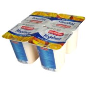 爱尔曼 0.1%低脂常温香蕉酸奶+低脂芒果橙酸奶 4*100g/盒