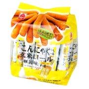 北田 蒟蒻糙米卷(蛋黄)160g/包