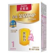 多美滋 金装金盾贝护优抗力婴儿配方奶粉 1段0-1岁 400g/盒