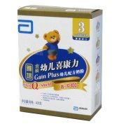 雅培 金装幼儿喜康力智护100 幼儿配方奶粉(3段)400g/盒