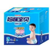 妈咪宝贝 瞬吸干爽 婴儿纸尿裤 L150片 男婴用