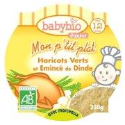 【欧格尼】法国进口有机婴儿即食米粉(青豆火鸡肉片口味)200g/盒