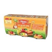 Heinz/亨氏 优惠套装一段B强化维C果汁套餐118ml x3