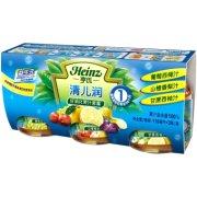 Heinz/亨氏 清儿润好消化果汁套餐118ml*3瓶