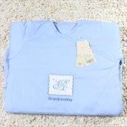 皇家宝贝 2011婴童护肩护手睡袋 613150009天蓝色均码